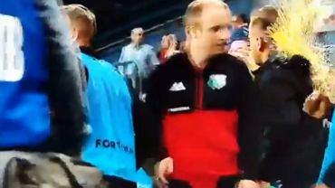 Skandal po meczu Wisła - Legia. Kamera wszystko nagrała [WIDEO]