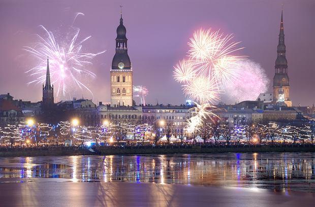 Świętowanie Nowego Roku w Rydze