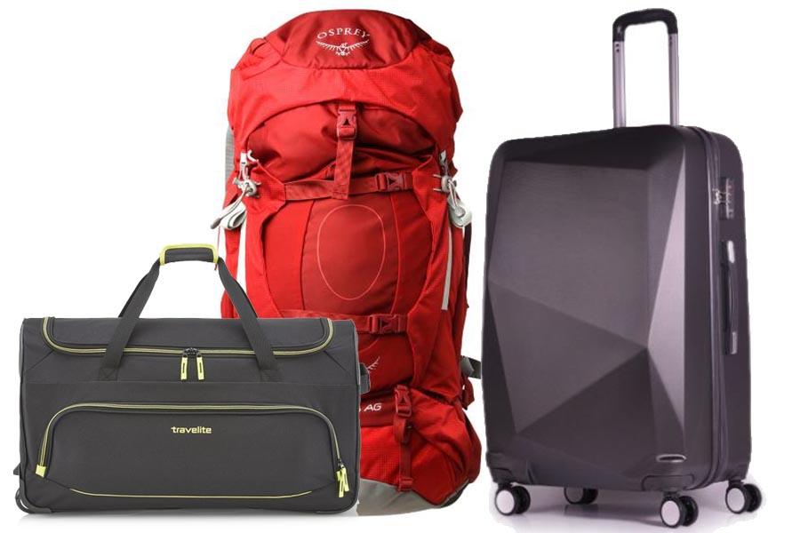 Kompaktowe walizki i plecaki