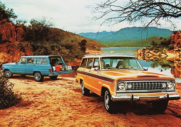 Jeep Wagoneer SJ 1974