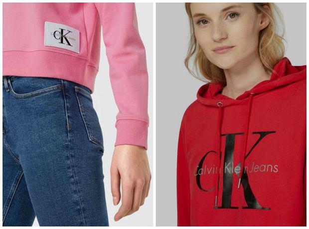 bluza Calvin Klein z wyprzedaży