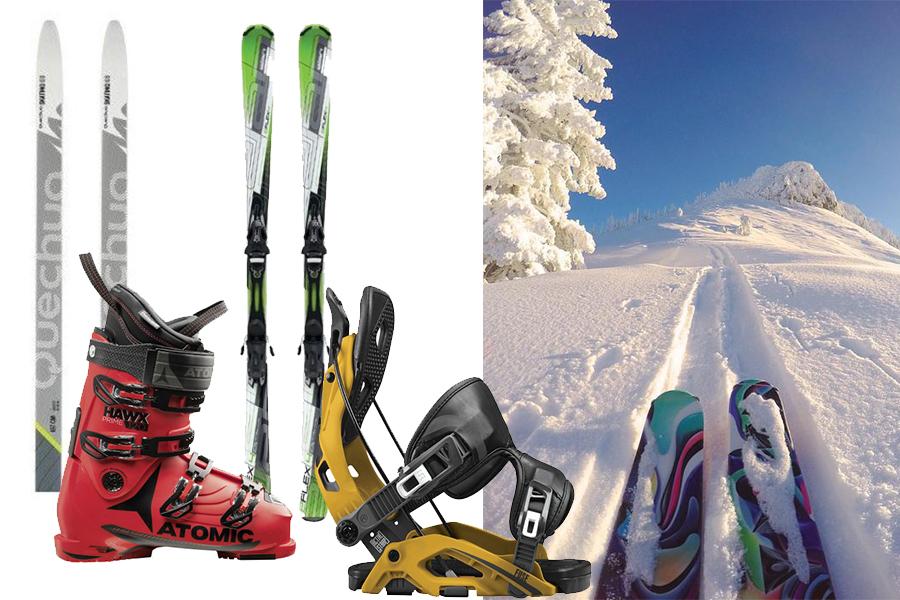 Narty, buty narciarskie - podstawowy ekwipunek