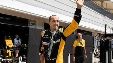 Renault podał skład na Grand Prix Belgii. Jest wzmianka o Kubicy