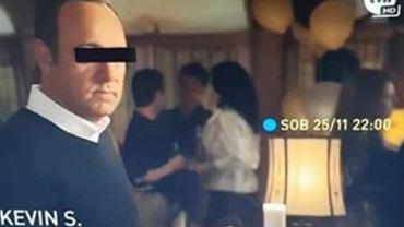 Kevin Spacey ocenzurowany w zwiastunie filmu na TVN-ie. Czarny pasek na oczach to nie wszystko