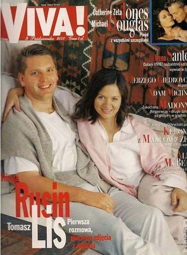 Tomasz Lis, Kinga Rusin