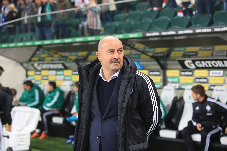 Selekcjoner reprezentacji Rosji Stanisław Czerczesow był w latach 2015-2016 trenerem Legii Warszawa (fot. Jacek Marczewski/Agencja Gazeta)