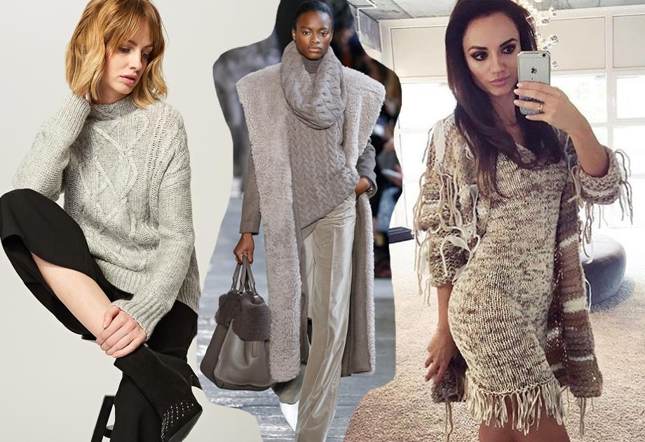 Swetry na jesień i zimę - Reserved, Max Mara, Marta Boliglova