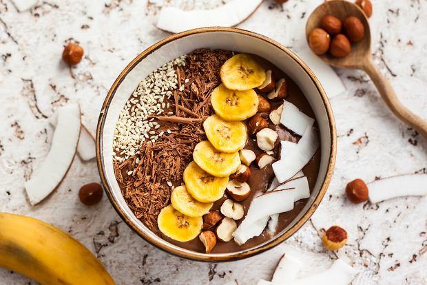 Smoothie bowl czekoladowe