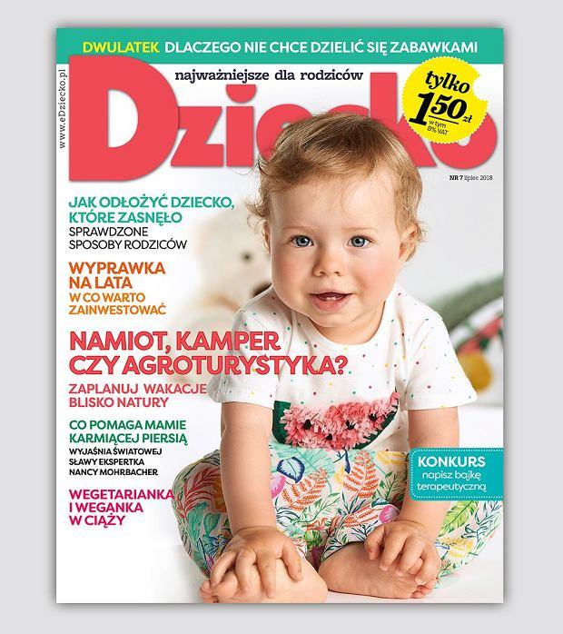 Lipcowe wydanie magazynu DZIECKO