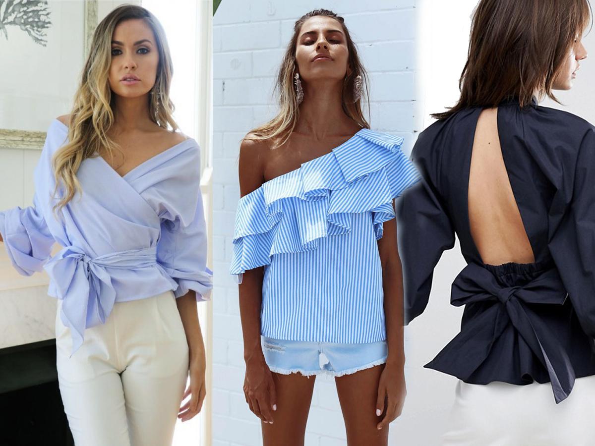 1ec44959358a47 Najmodniejsze bluzki na wiosnę 2018 - 18 pięknych modeli na nowy sezon