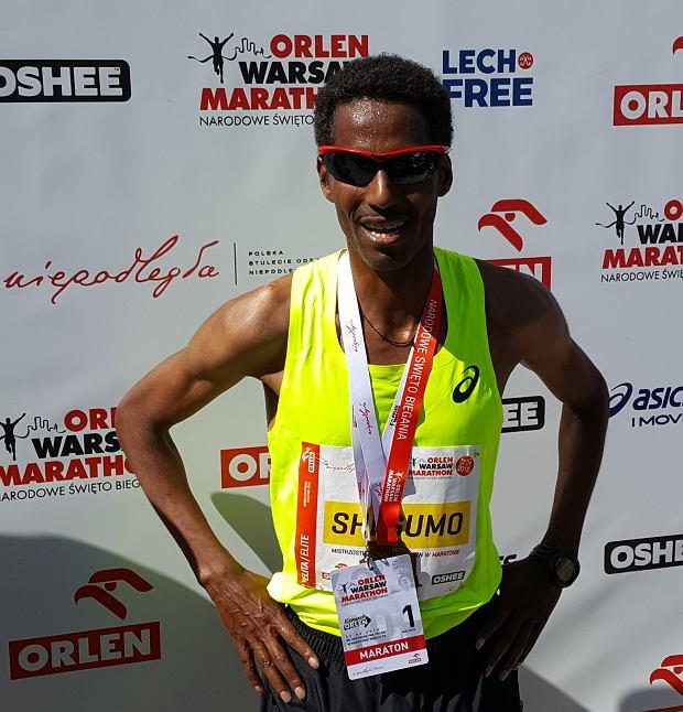 Yared Shegumo mistrzem Polski w maratonie!
