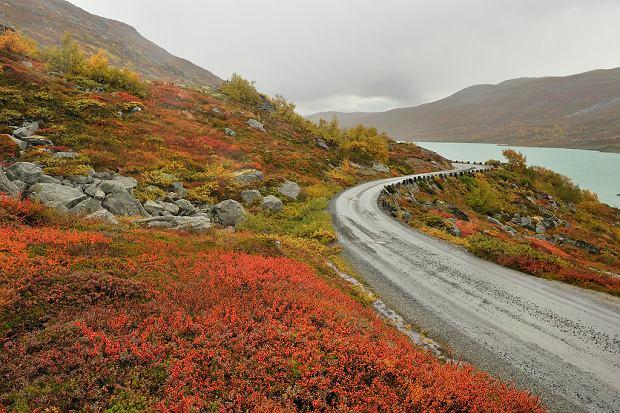 Widoki na trasie Gamle Strynefjellsvegen