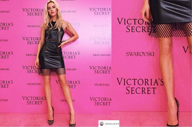 Julia Kuczyńska Maffashion na pokazie Victoria's Secret