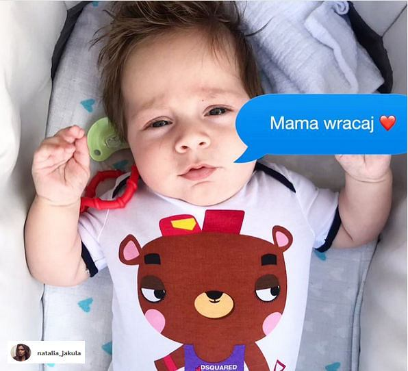 Wiktor, syn Natalii Jakuły i Tomasza Iwana