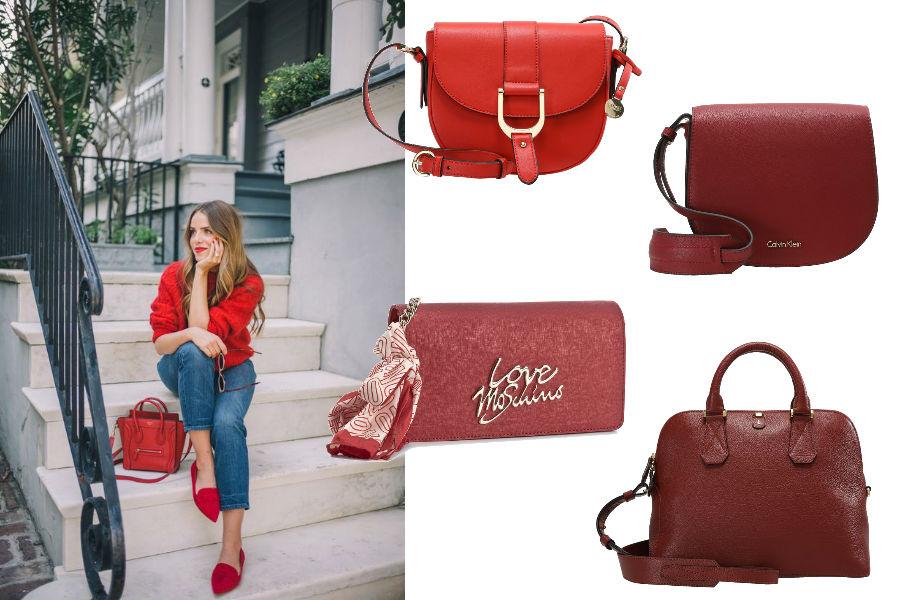 40cf15dd8bcaf Czerwone torebki - intensywny dodatek do każdej stylizacji