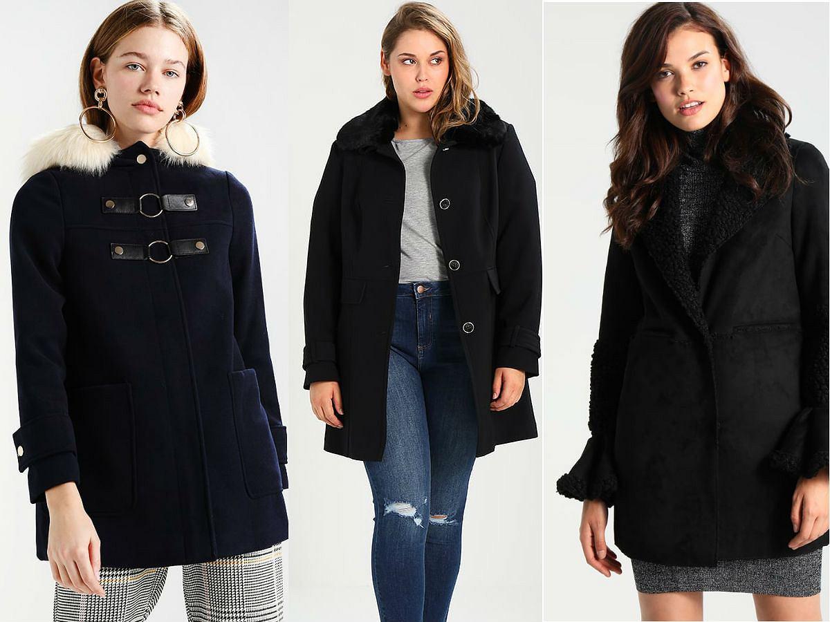 Krótkie płaszcze na zimę