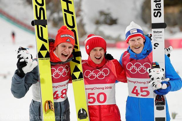 Andreas Wellinger, Kamil Stoch, Robert Johansson