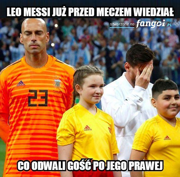 Mundial 2018. Memy po meczu Argentyna - Chorwacja (0:3)