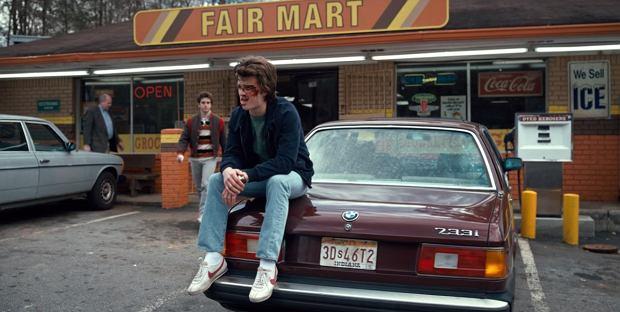 BMW 733i 1981' Stranger Things