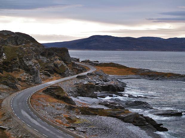 Widoki na trasie Havoysund