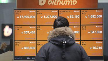 """Korea Południowa i Chiny """"strzelają"""" do bitcoina. Gwałtowne załamanie kursu"""