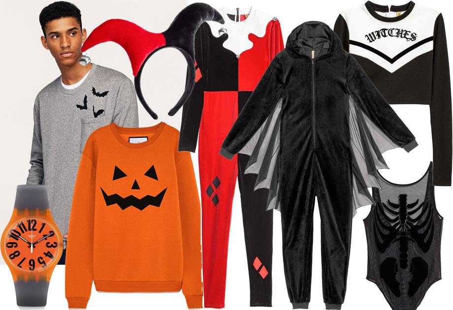 Przebrania na Halloween dla dorosłych: Swatch, Zara, H&M