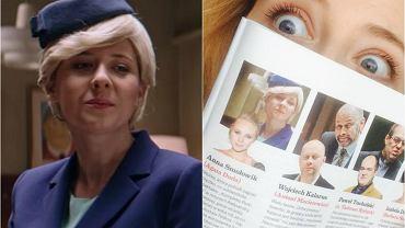 """""""Wprost"""" chwali aktorkę z """"Ucha Prezesa"""". Ale na zdjęciu... to nie ona!"""
