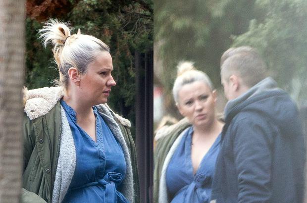 Dorota Szelągowska w zaawansowanej ciąży i bez makijażu. Widać, że rodzi lada moment. Spójrzcie na jej brzuch!