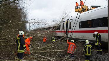 W Niemczech chaos komunikacyjny. Tysiące pasażerów uziemionych