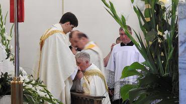 Najpierw święcenia, teraz msza Tymoteusza Szydło. Nie zabrakło rodziny