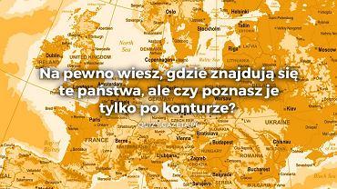 Poznasz kraje po obrysie? To quiz tylko dla geograficznych orłów!