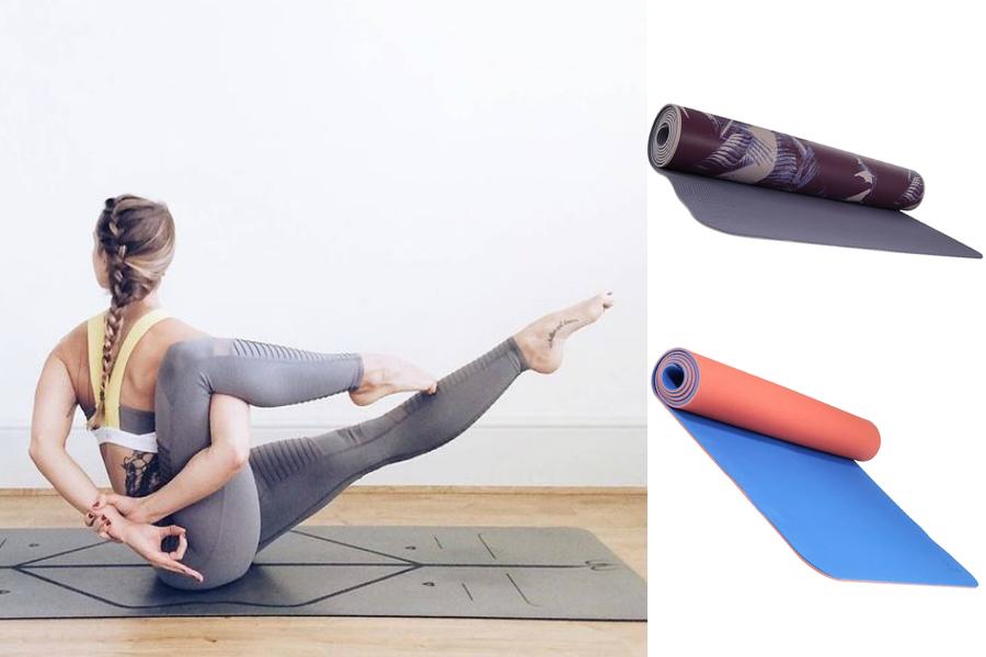 Co zabrać na jogę - mata / fot. aloyoga.com / mat. partnera