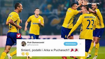 """""""Siemaszko Europo!"""" Sensacyjny wynik Arki zachwycił kibiców. """"Czapki z głów!"""""""