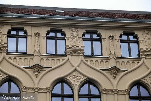 17.11.2017 Wroclaw . Kamienica przy ul. Krasinskiego 21/23 . fot . Mieczyslaw Michalak / Agencja Gazeta