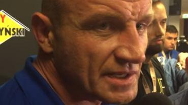 Pytają Pudzianowskiego o komentarz do zamachu w Manchesterze. Ten wybuchł