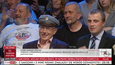"""Trwa program w TVP Info, nagle gość: """"Sędziowie powinni wisieć"""". Prowadzący - m.in. dr Ogórek - niewzruszeni"""