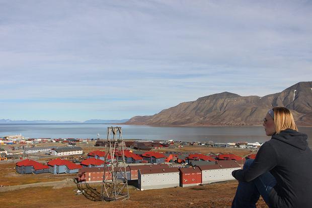 Longyearbyen w regionie Svalbard