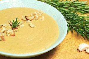 Zupa krem z grzybów leśnych [Jakub Kuroń gotuje]