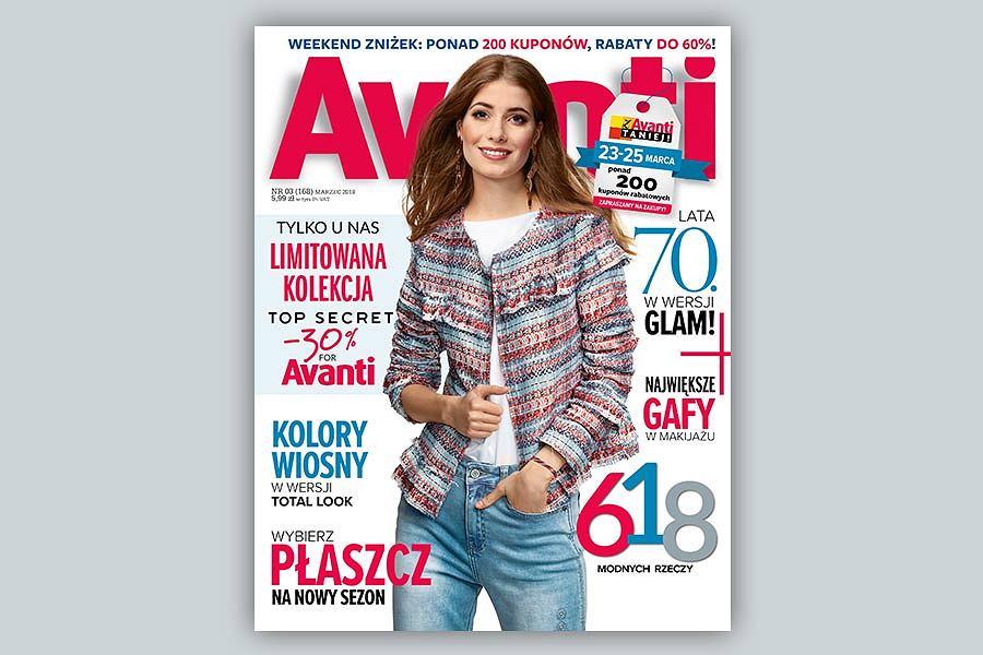"""Niespodzianki dla czytelniczek w marcowym """"Avanti"""""""