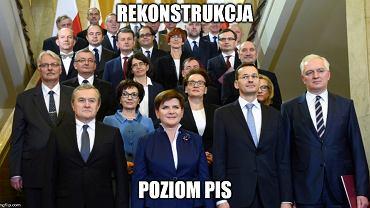 Rząd Morawieckiego - chyba gdzieś już widzieliśmy te twarze... [MEMY]