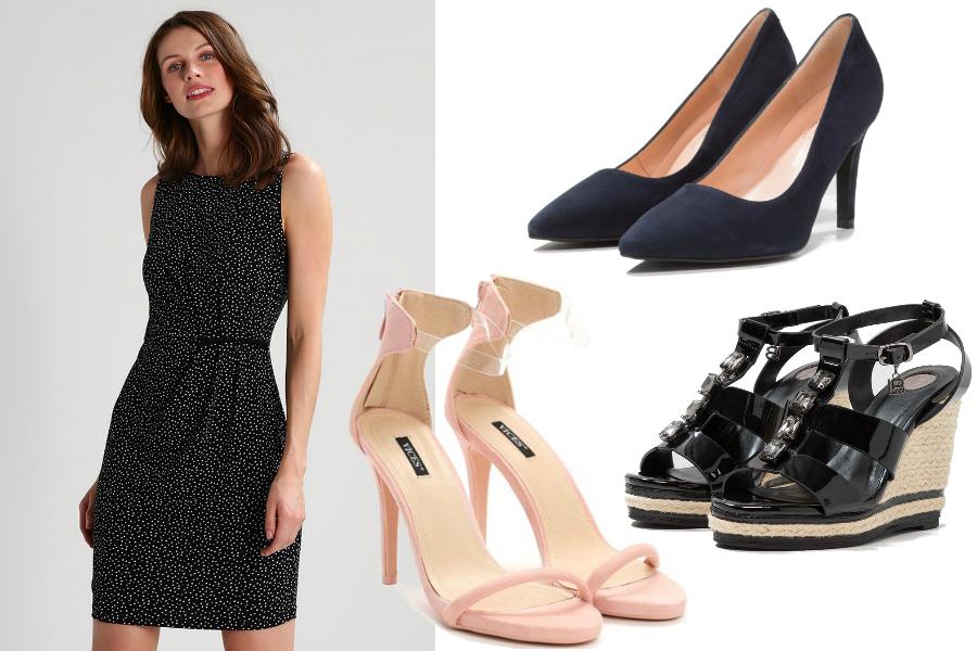 Jak dobrze wyglądać w sukience - buty / mat. partnera