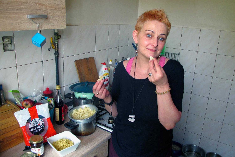 Marzena Pachacz od 10 lat korzysta z pomocy żywnościowej (fot. archiwum prywatne)
