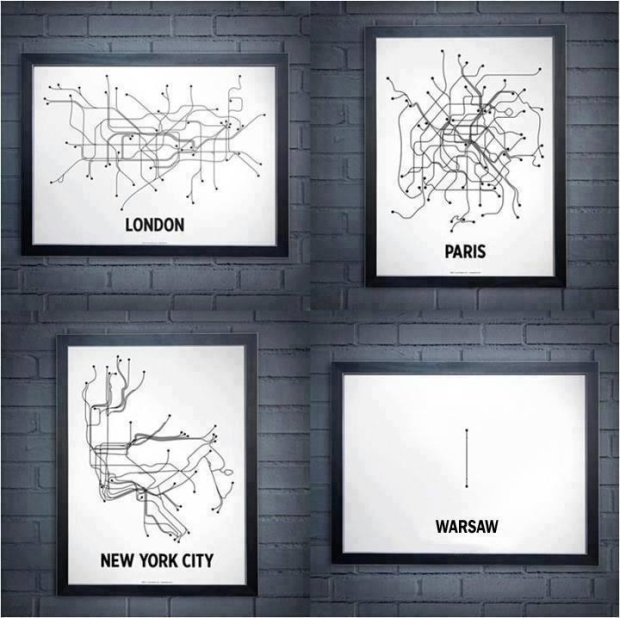 Metro lines schema, Source: deser.pl
