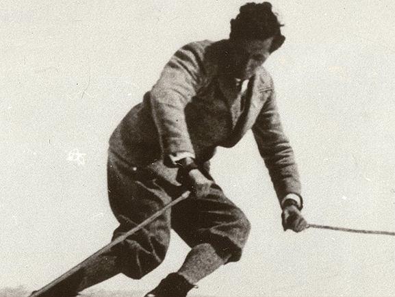 Hannes Schneider, fot. Archiv Winter!Sport!Museum!Mürzzusch