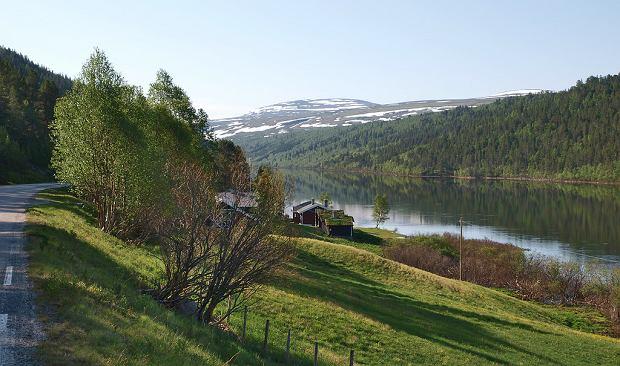 Widoki na trasie Rondane