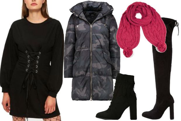 fot. materiały partnera/ modne ubrania n zimową imprezę