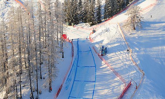 Ganslernhang (w skrócie Ganslern) to stok narciarski w Kitzbühel. Fot. materiały partnera