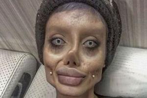 """""""Zombie Angelina""""o swojej twarzy: To makijaż i Photoshop! Jak wygląda bez tego?"""