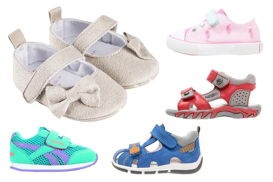 Niedrogie buty dla niemowląt