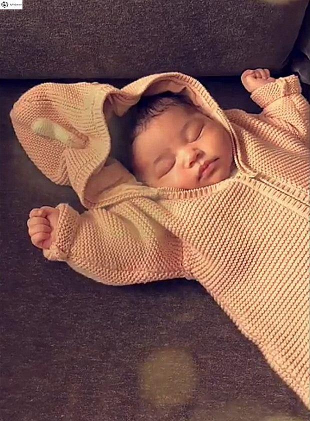 Stormi, córka Kylie Jenner
